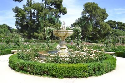 Parque del Retiro – La Rosaleda
