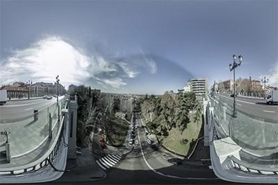 El Viaducto…. desde nuestra escalera