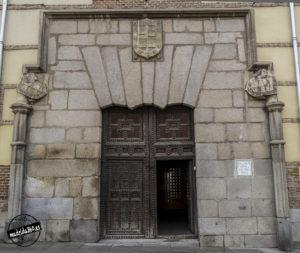 Entrada Plaza de la Villa