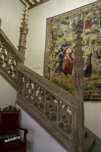 Escalera gótica Hospital de la Latina