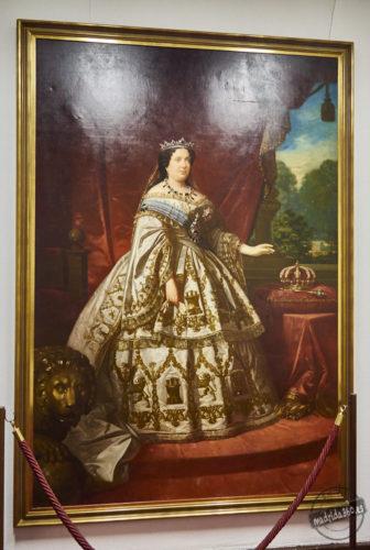 Retrato de Isabel II